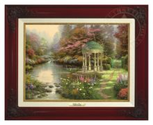 Garden of Prayer, The - Canvas Classic (Brandy Frame)
