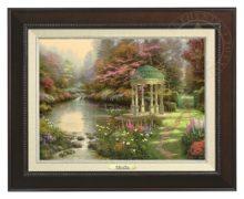 Garden of Prayer, The - Canvas Classic (Espresso Frame)