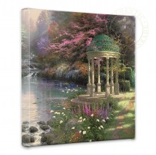 """Garden of Prayer, The - 14"""" x 14"""" Gallery Wrapped Canvas"""