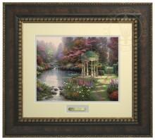 Garden of Prayer, The - Prestige Home Collection (Bronzed Gold Frame)