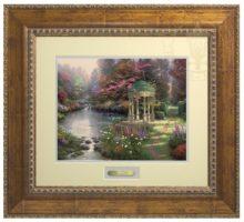 Garden of Prayer, The - Prestige Home Collection (Antiqued Gold Frame)