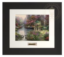 Garden of Prayer, The - Modern Home Collection (Espresso Frame)