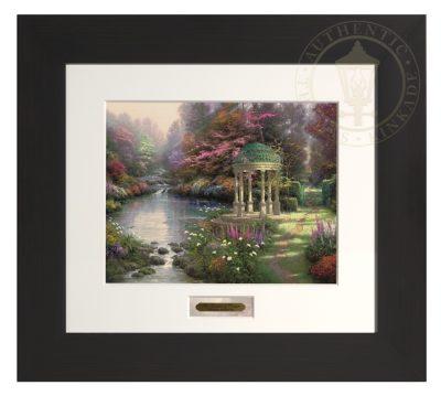 Garden of Prayer, The - Modern Home Collection (Espresso Frame)