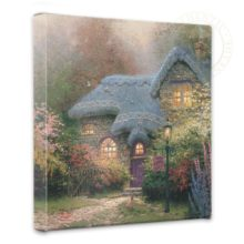 """Heather's Hutch - 14"""" x 14"""" Gallery Wrapped Canvas"""