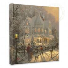 Thomas Kinkade Studios Santa/'s Special Delivery Prestige Home Collection