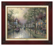 Hometown Morning - Canvas Classic (Brandy Frame)