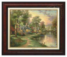 Hometown Lake - Canvas Classic (Burl Frame)