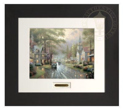 Hometown Evening - Modern Home Collection (Espresso Frame)