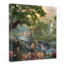 "Jungle Book, The - 14"" x 14"" Gallery Wrapped Canvas"