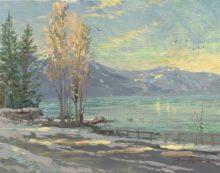 Lake Tahoe Shoreline, Winter