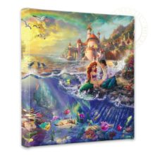"""Little Mermaid, The - 14"""" x 14"""" Gallery Wrapped Canvas"""