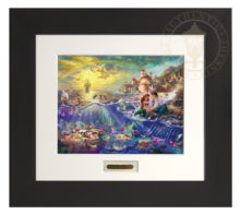 Little Mermaid, The - Modern Home Collection (Espresso Frame)