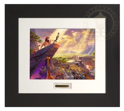 Lion King, The - Modern Home Collection (Espresso Frame)