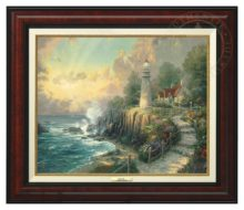 Light of Peace, The - Canvas Classic (Burl Frame)