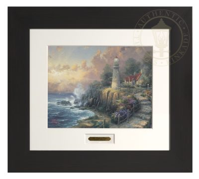 Light of Peace, The - Modern Home Collection (Espresso Frame)