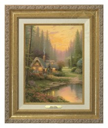 Meadowood Cottage - Canvas Classic (Gold Frame)
