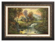Mountain Retreat - Canvas Classic (Aged Bronze Frame)