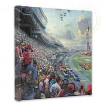 "NASCAR Thunder - 14"" x 14"" Gallery Wrapped Canvas"