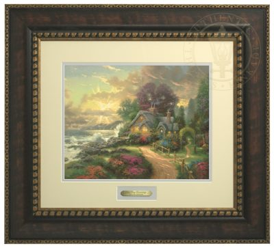 New Day Dawning, A - Prestige Home Collection (Bronzed Gold Frame)