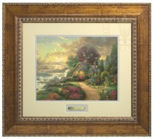 New Day Dawning, A - Prestige Home Collection (Antiqued Gold Frame)