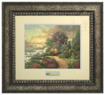 New Day Dawning, A - Prestige Home Collection (Antiqed Silver Frame)