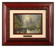 New York, Fifth Avenue - Brushwork (Brandy Frame)