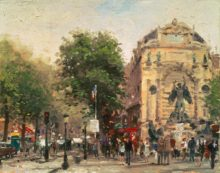 Paris, St. Michel