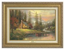 Peaceful Retreat, A - Canvas Classic (Gold Frame)