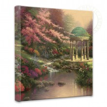 """Pools of Serenity - 14"""" x 14"""" Gallery Wrapped Canvas"""