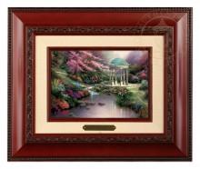 Pools of Serenity - Brushwork (Brandy Frame)