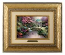 Pools of Serenity - Brushwork (Gold Frame)
