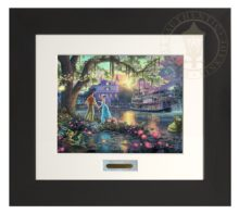 Princess and the Frog, The - Modern Home Collection (Espresso Frame)
