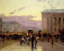 Rainy Dusk, Paris