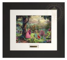 Sleeping Beauty - Modern Home Collection (Espresso Frame)