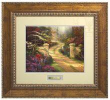 Spring Gate - Prestige Home Collection (Antiqued Gold Frame)