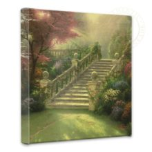 """Stairway to Paradise - 14"""" x 14"""" Gallery Wrapped Canvas"""