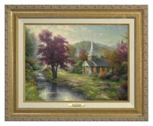 Streams of Living Water - Canvas Classic (Gold Frame)