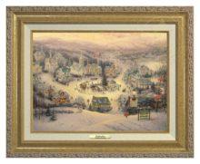 St. Nicholas Circle - Canvas Classic (Gold Frame)