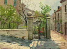 Sunlit Garden