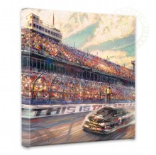 """This is Talladega - 14"""" x 14"""" Gallery Wrapped Canvas"""