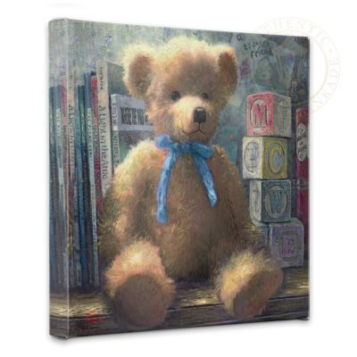 """Trusted Friend, A, Blue Bell - 14"""" x 14"""" Gallery Wrapped Canvas"""