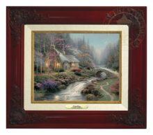 Twilight Cottage - Canvas Classic (Brandy Frame)