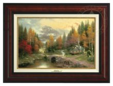 Valley of Peace, The - Canvas Classic (Burl Frame)