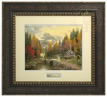 Valley of Peace, The - Prestige Home Collection (Bronzed Gold Frame)