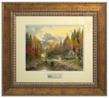 Valley of Peace, The - Prestige Home Collection (Antiqued Gold Frame)