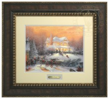 Victorian Christmas II - Prestige Home Collection (Bronzed Gold Frame)