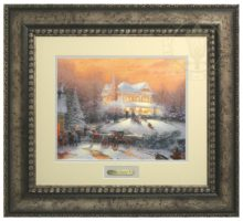 Victorian Christmas II - Prestige Home Collection (Antiqed Silver Frame)