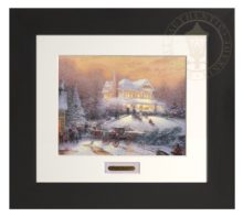 Victorian Christmas II - Modern Home Collection (Espresso Frame)