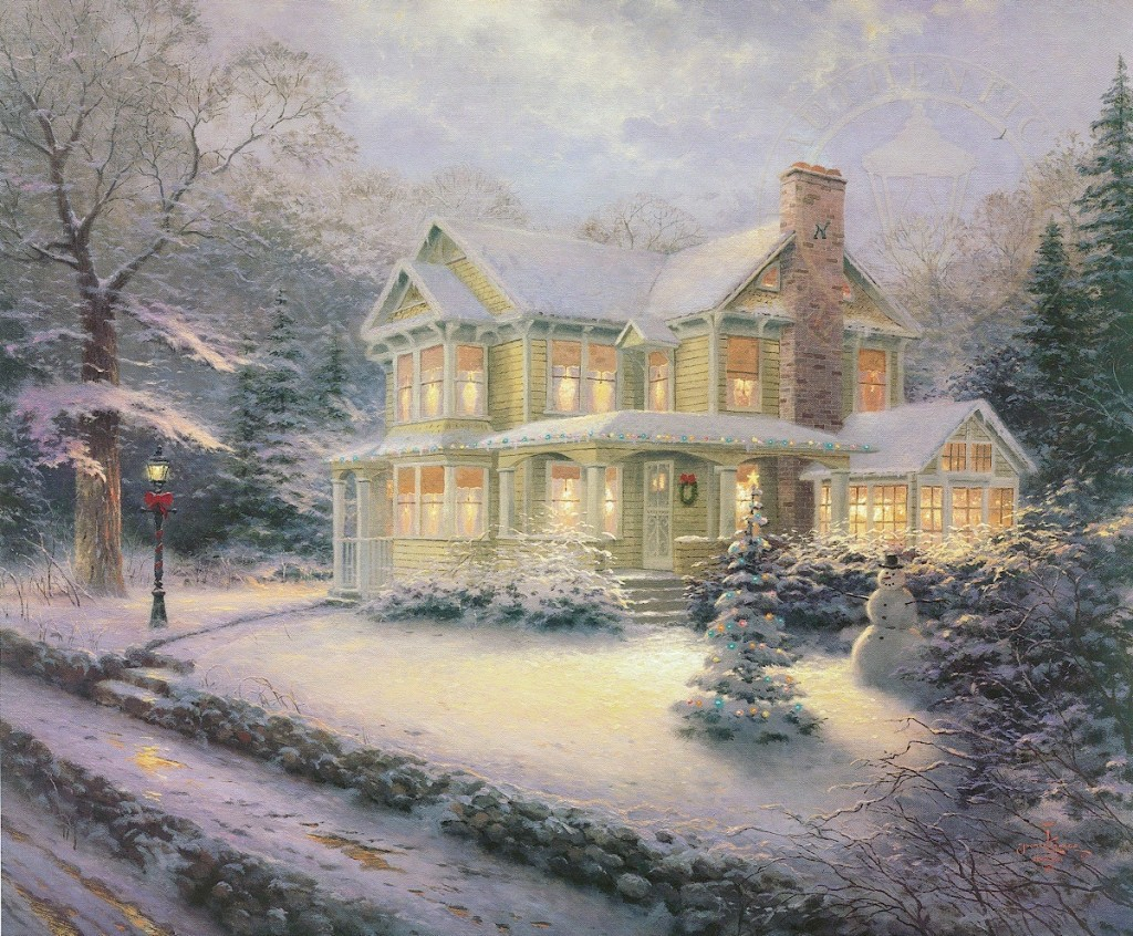 the thomas kinkade galleries of new york new jersey are pleased to offer thomas kinkades vast collection of christmas art thomas kinkade christmas