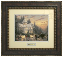 Victorian Christmas - Prestige Home Collection (Bronzed Gold Frame)